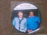 The Girl is Mine. Michael Jackson and Paul McCartney Picture Disc