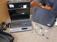 "acer 6930Z laptop plus lots of extras - fully working 16.9"" tft screen"