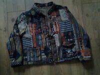 Ladies Casual Patterned Jacket