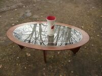 Vintage mid 60s coffee table By Gplan