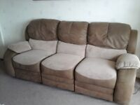 3 piece siute 3/2/1 recliners