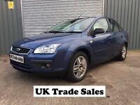 2005 FORD FOCUS SALOON 1.6 GHIA 4 DOOR ***11 MONTHS MOT*** similar to megane golf vectra civic astra