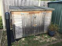 Bike/storage shed