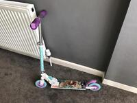 Girls Frozen Scooter Great Condition