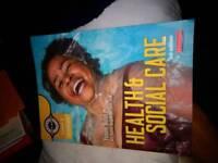 Yvonne Nolan Health & Social care level 2 book