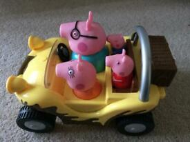 Peppa pig noisy car