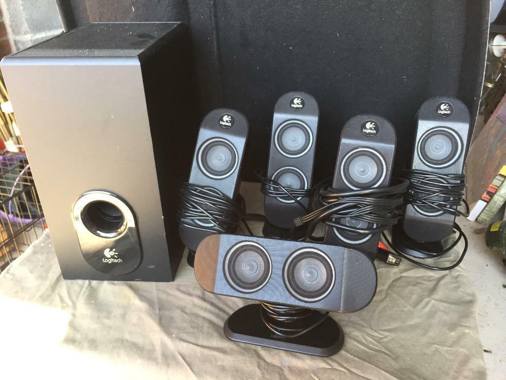 f065124d5c0 Logitech 5:1 Speaker Surround Sound System | in Rugby ...