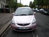 LOW MILEAGE LOW TAX LOW INSURANCE AUTOMATIC HONDA JAZZ 57 PLATE