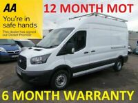 Ford Transit 350 FWD 2.0 TDCI 130 LWB H/R***12 MONTH MOT***6 MONTH WARRANTY***LEASE CO DIRECT***