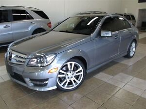 2013 Mercedes-Benz C-Class C350 4MATIC PANOROOF FULLY LOADED