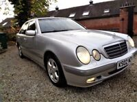 *** 2002 MERCEDES E240 AUTO 115K DRIVES PERFECT ***