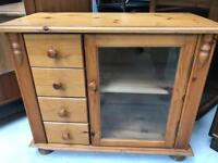 Pine Tv cabinet FREE DELIVERY PLYMOUTH AREA