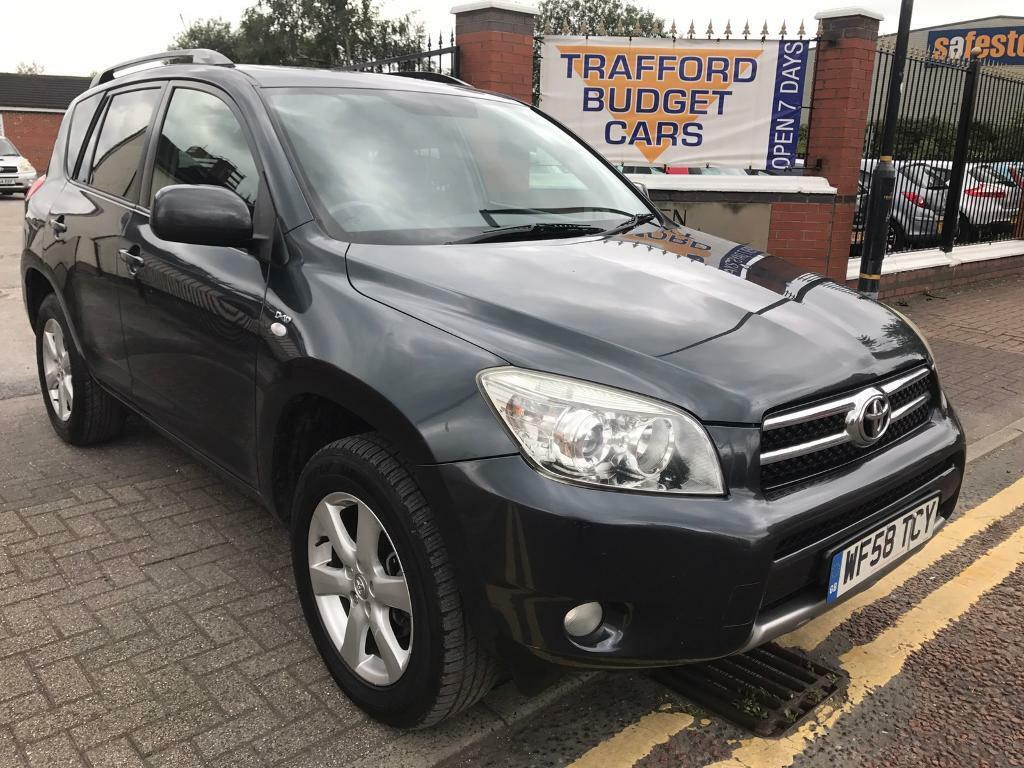 Toyota RAV4 2008 2.2 NEW shape ideal 4x4 cheap car, no issues.