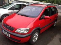 For sale Vauxhall zafira 1.8