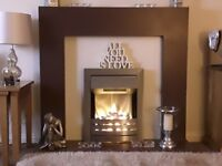 Contemporary Modern Fire Surround suite