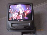 Retro JMB television VCR combination, TV Television ANALOGUE