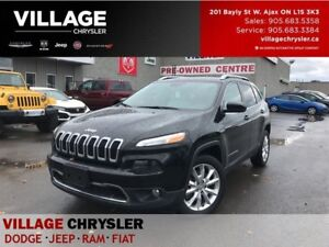 2017 Jeep Cherokee Limited|NAV|LEATHER|REMOTE