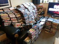 more than 1500 used dvds
