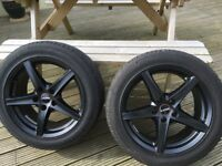 "Set of 18"" wheels for transporter"