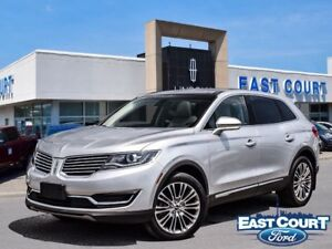 2016 Lincoln MKX Reserve, Roof, NAV, Bluetooth, Heated-Cooled Se