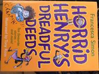 Horrid henrys dreadful deeds book