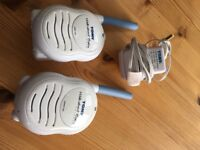 TOMY WALKABOUT cordless BABY MONITORS RECHARGABLE WITH CHARGER