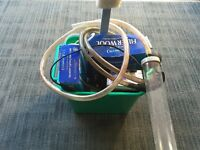 Fish Tank Aquarium Starter Kit Bundle Of Accessories Air Pump Power Head Cleaners Light Unit