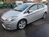 TOYOTA PRIUS T SPIRIT,SILVER,FULL TOYOTA HISTORY,UK MODEL,0 TAX,NEW MOT & NEW PCO STICKER EXCELLENT