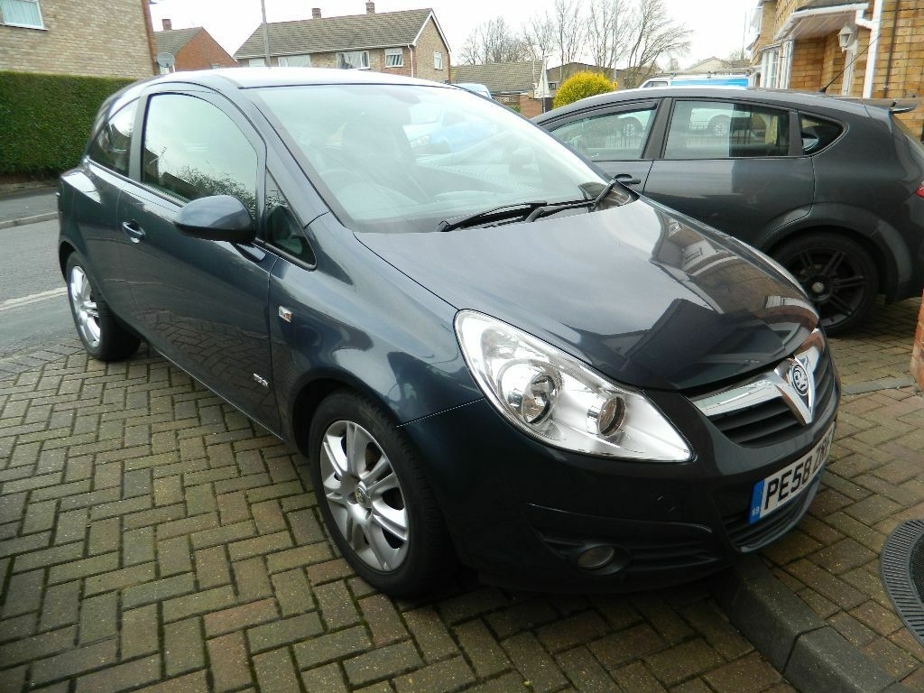 2008 vauxhall corsa design metro blue 1 2 in thurmaston leicestershire gumtree. Black Bedroom Furniture Sets. Home Design Ideas