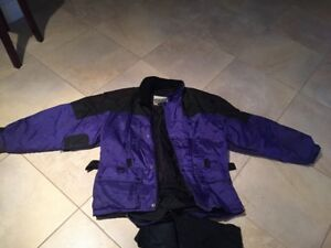 Womens Large Snowmovile outfit