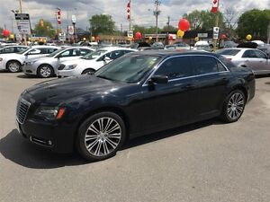 2012 CHRYSLER 300 S - PANORAMIC SUNROOF, LEATHER HEATED SEATS, A