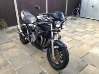 Black, twin headlight conversion, new chain and sprockets, MOT June 18