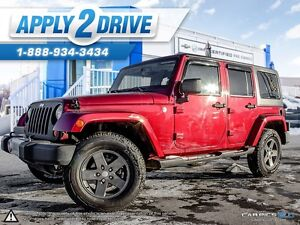 2013 JEEP WRANGLER UNLIMITED SAHARA 4X4 LOADED L@@K