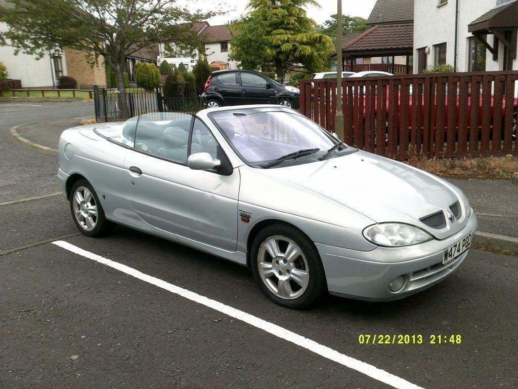 renault megane convertible in livingston west lothian. Black Bedroom Furniture Sets. Home Design Ideas