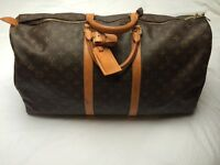 Louis Vuitton Keepall 55 Holdall Weekend Bag unisex - cabin baggage
