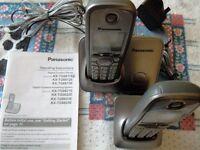 Panasonic KX-TG6611 DECT - 2 Cordless Phones (KX-TG6611)