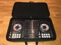 Pioneer DDJ SX2 with customised platters & UDG case