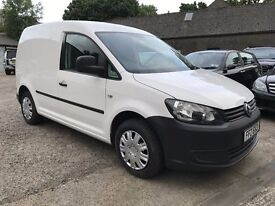 Immaculate new model 2011 VW CADDY C20 TDI 75BHP van, trade in considered, credit cards accepted