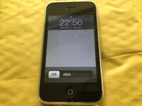 iPhone 3G 8GB BLACK ( O2 and Giffgaff)