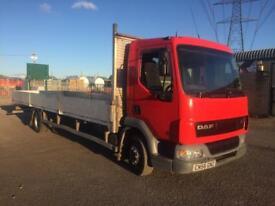 DAF LF 45 180 12 tonne triple dropside