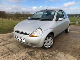 2002 Ford Ka 1.3 Collection+LOW MILES+12 MONTHS MOT+Px+Swap