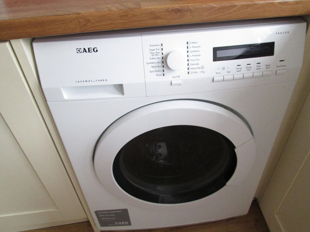 aeg lavamat turbo protex washer dryer in royston cambridgeshire gumtree. Black Bedroom Furniture Sets. Home Design Ideas