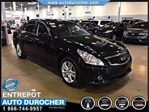 2013 Infiniti G37 Sedan AUTOMATIQUE CUIR TOIT PANORAMIQUE CAMERA