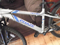 like-new condition mountain bike size 16
