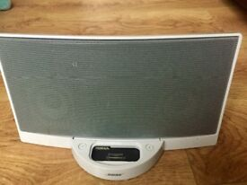 Bose Sound Dock White Digital Music System