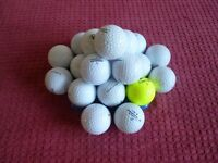 Golf balls…bag of 25 balls… good condition clean used…