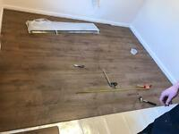 Floor fitting * laminate tiles carpet laying laminate floor