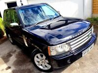 **1 PREV OWNER** 2006 LAND ROVER RANGE ROVER VOGUE TDV8 A BLACK 3.6 AUTO SPORT