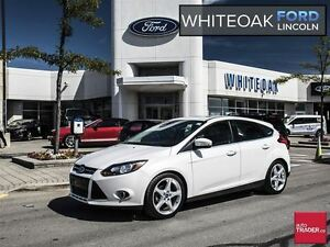 2012 Ford Focus Titanium, leather, roof, navi