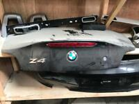 BMW Z4 bootlid in black